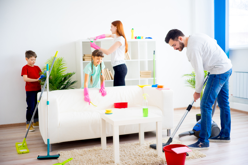 Turn Spring Break into Spring Cleaning With Your Kids - Zanjani Cleaning Service - Cleaning Company Calgary