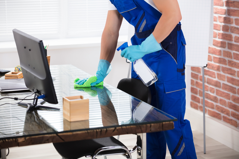Bring Spring Cleaning to Your Office Desktop - Zanjani Cleaning Service - Commercial Cleaning Calgary