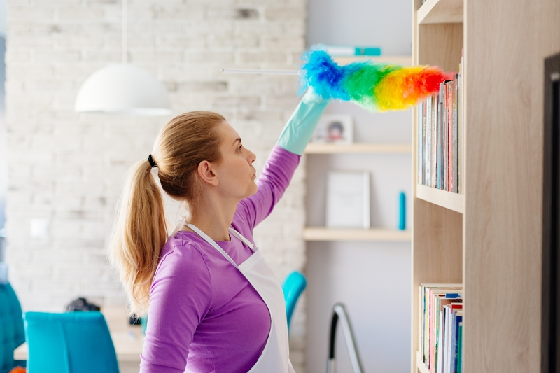 Importance of High Level Dusting for Offices and Commercial Buildings - Zanjani Cleaning Service - Commercial Cleaning Company - Featured Image