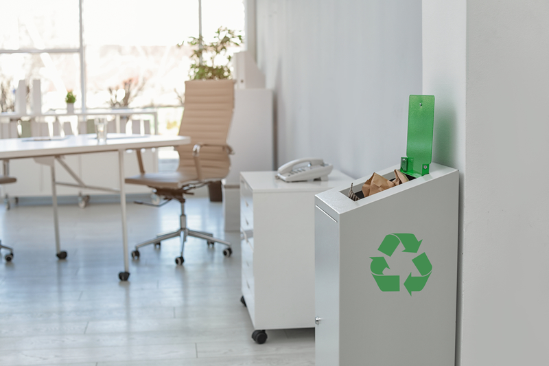 Reducing Office Waste - Zanjani Cleaning Service - Commercial Cleaning Services - Featured Image