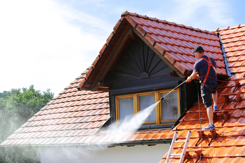 Why You Should Pressure Wash Your Gutters - Zanjani Cleaning Service - Commercial Cleaning Company - Featured Image