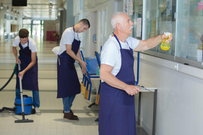 How to Choose Your Commercial Building Janitorial Team - Zanjani Cleaning Service - Commercial Cleaning Service - Featured Image