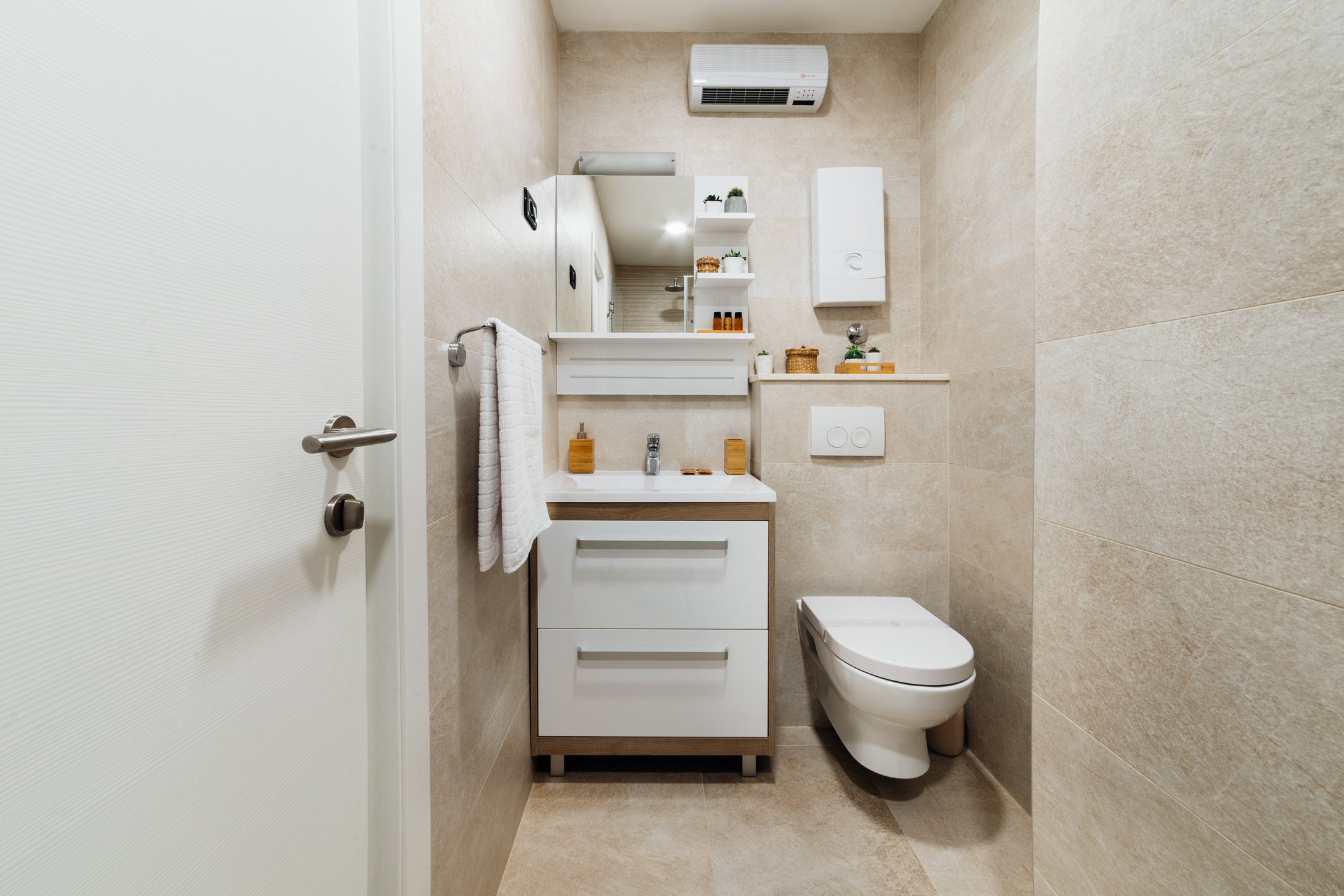Professional Cleaning Small Space
